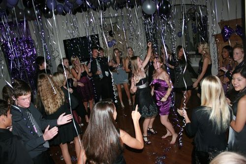 Sweet 16 dance party