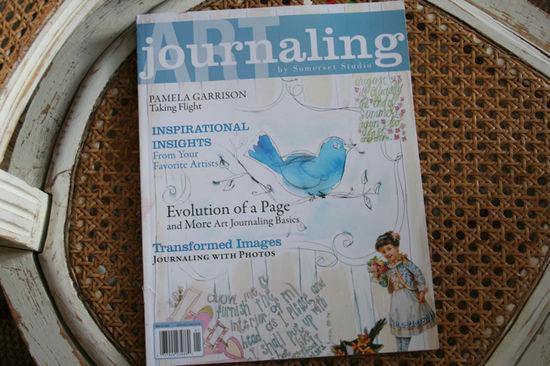 Art journaling cover