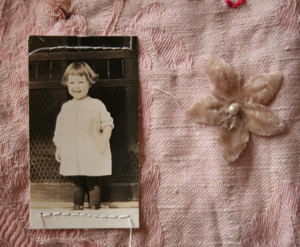 2nd sampler, little girl