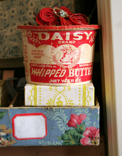 Daisy box, art room