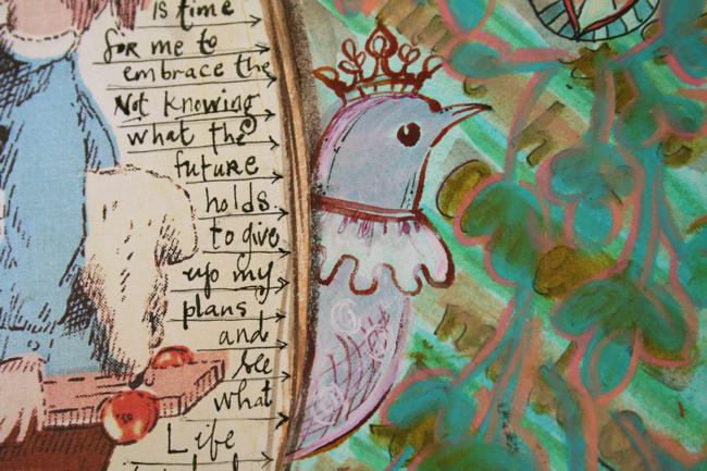 Journaling q&a bird