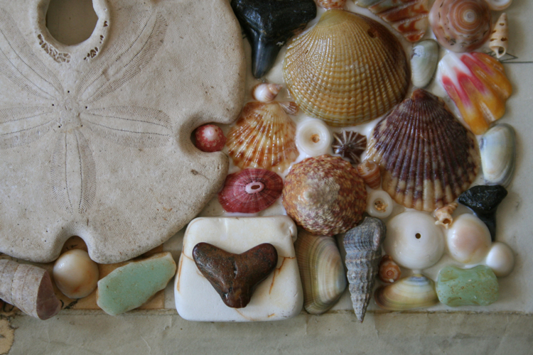 Shell house close up 4