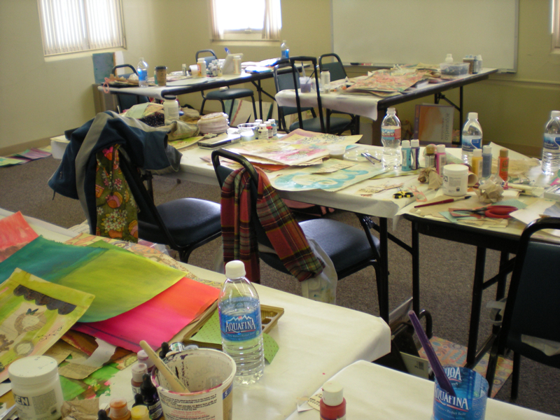 Classroom in progress