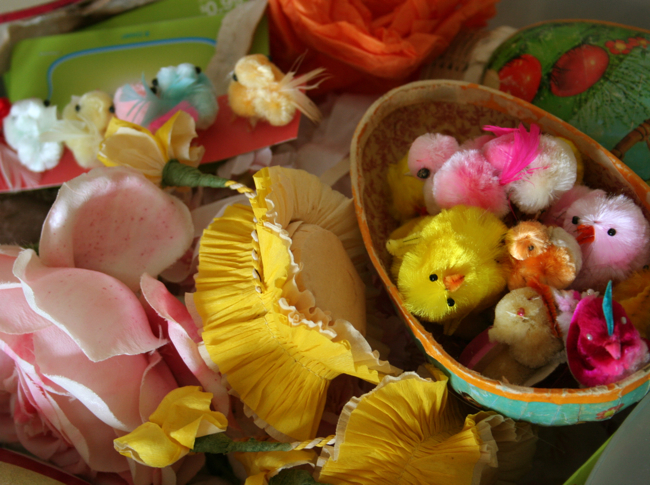 Packing up easter