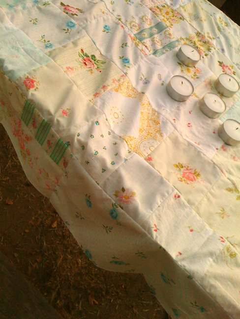 Camping tablecloth