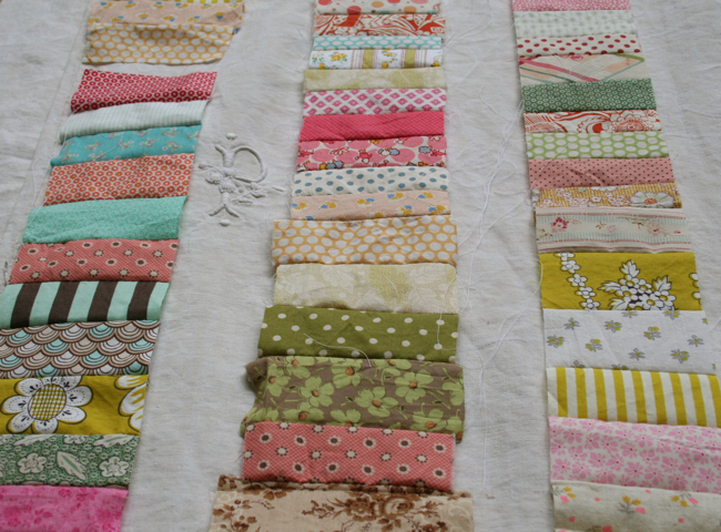 New quilt in progress