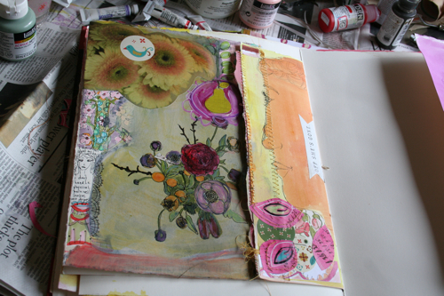 Journal page in progress, more