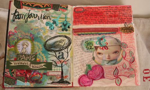 Journal spread 1:23