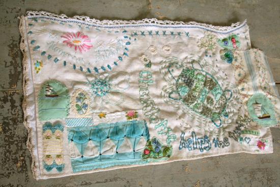 Summer stitching turtle 5