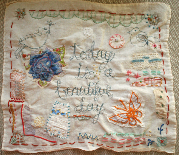 Beautiful day stitching 1