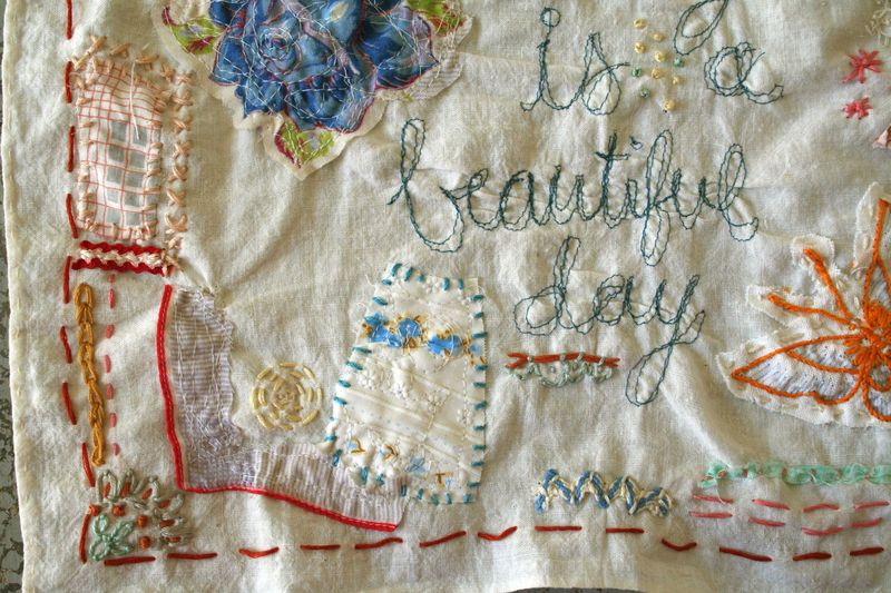 Beautiful stitching 5