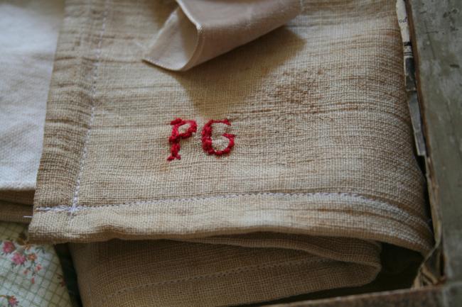 PG initials