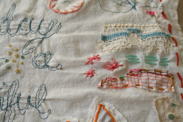 Beautiful day stitching 2