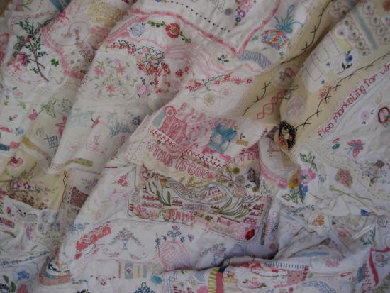Big quilt first