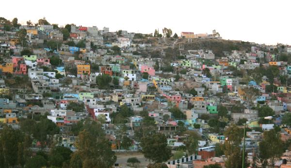 Querétaro hillside