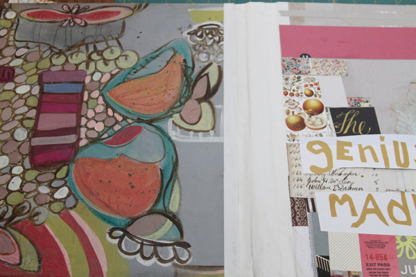 Journal cover 7:11 in progress