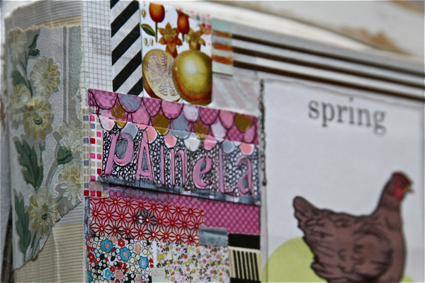 Journal cover 7:11 spine