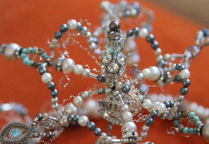 Beaded crown close up 1