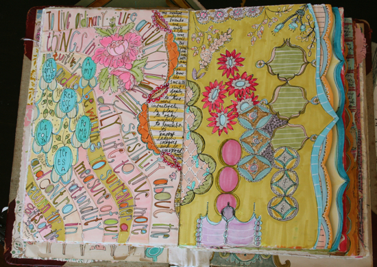 Journey into journaling class sample 4
