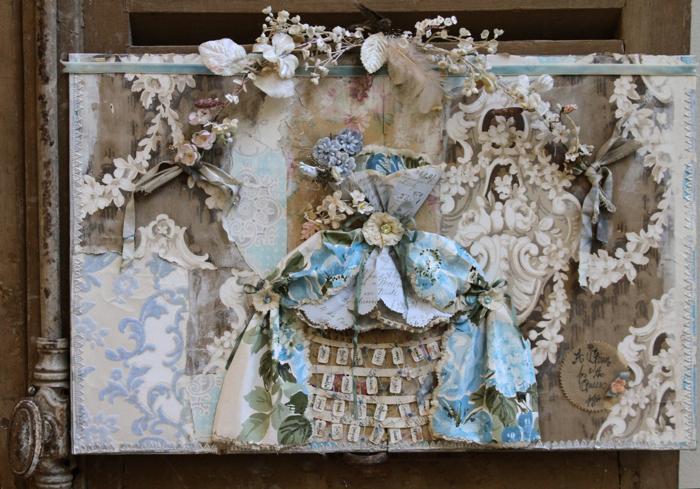 Marie antoinette dress board