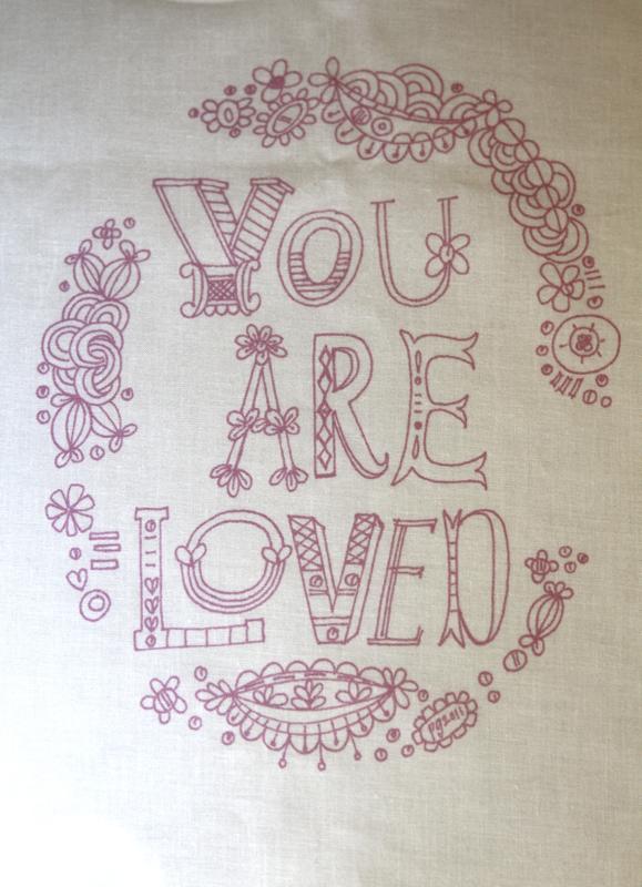 You are loved sampler