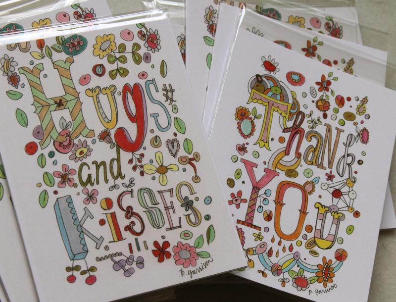Postcard sets t:h e
