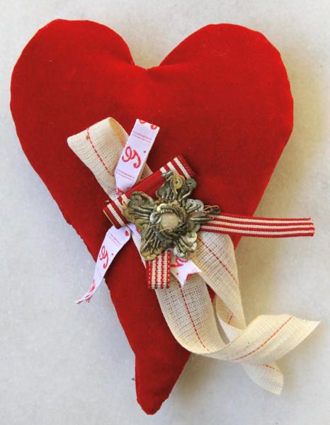 Embellished heart
