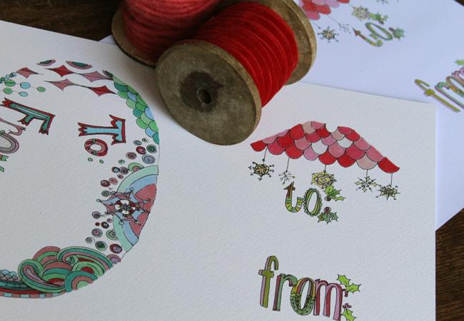 Gift tags 2011, blog