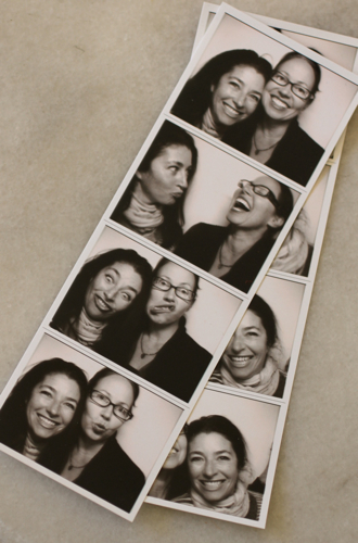 Pam:amy photobooth