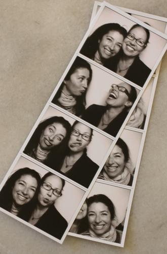 Pam:amy photobooth