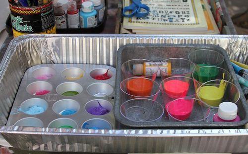 paint palette,painting