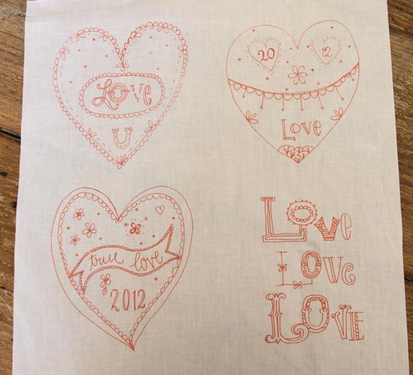 Love samplers 2012