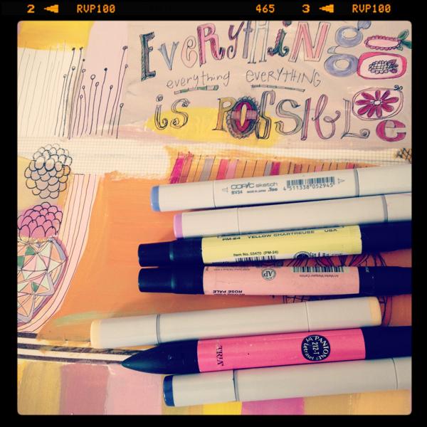 Instagram journaling