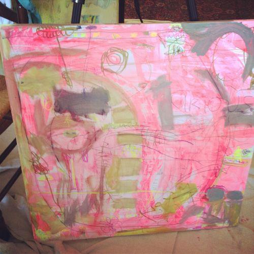 Painting in progress 1 jm
