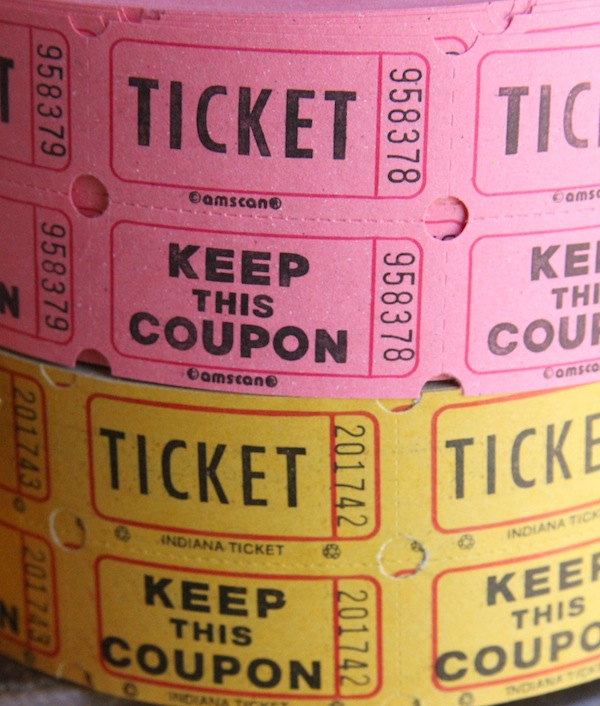 paper tickets