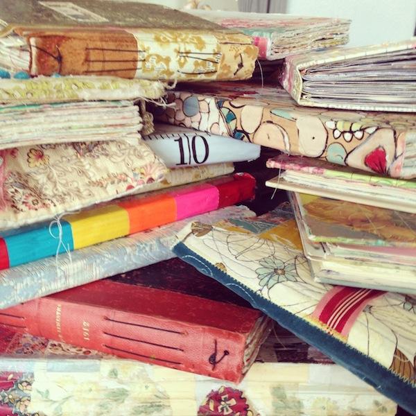 art journals,pam garrison journals