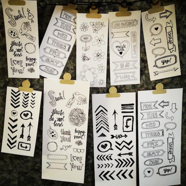Stamp sets 3