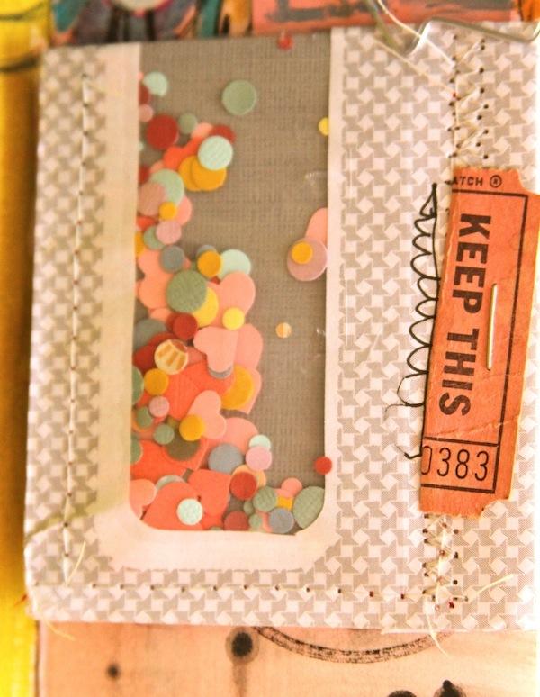 confetti,art journal