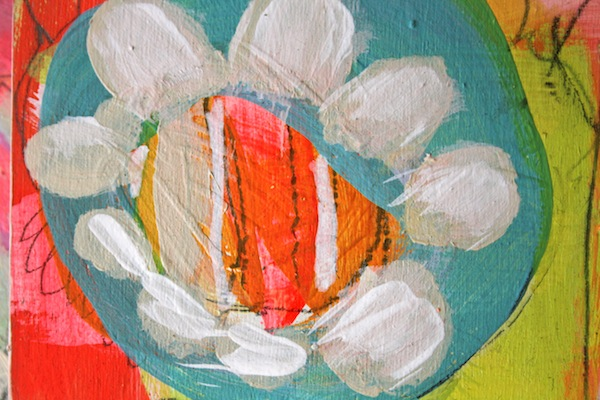 flower painting,abstract art