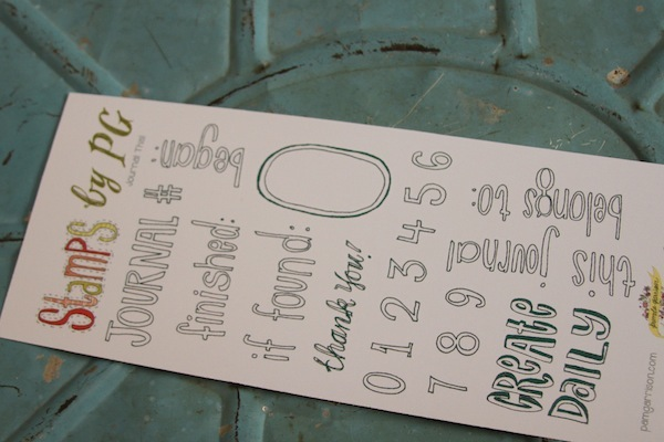 clear stamps,journal stamps,number stamps