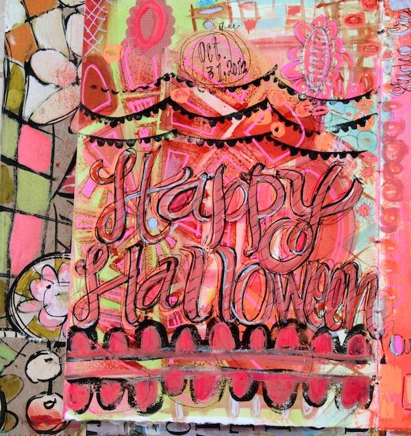 halloween journaling