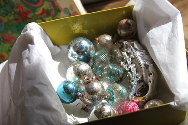vintage pickle ornament