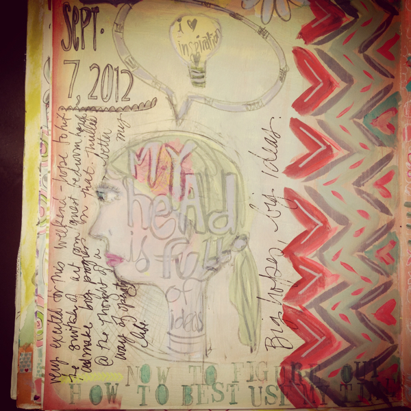 Journal page 9:7:12