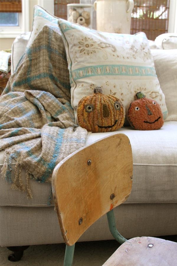 living room,mary stanley pumpkins