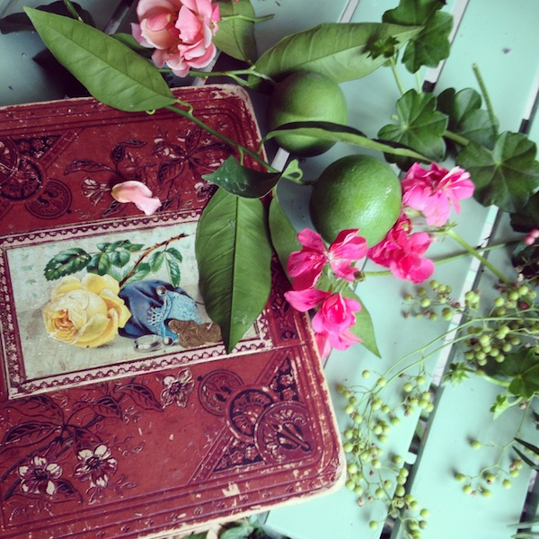 art journal,old book cover