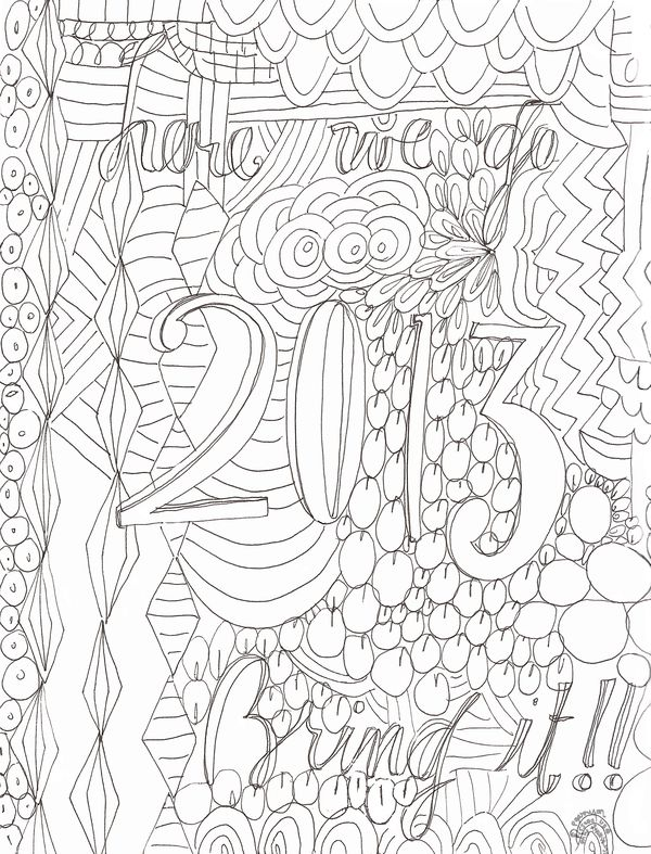 P Garrison coloring page