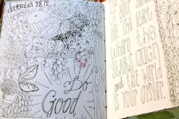 pam garrison art journal,art journaling