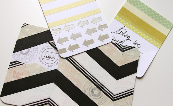 washi tape journal cards