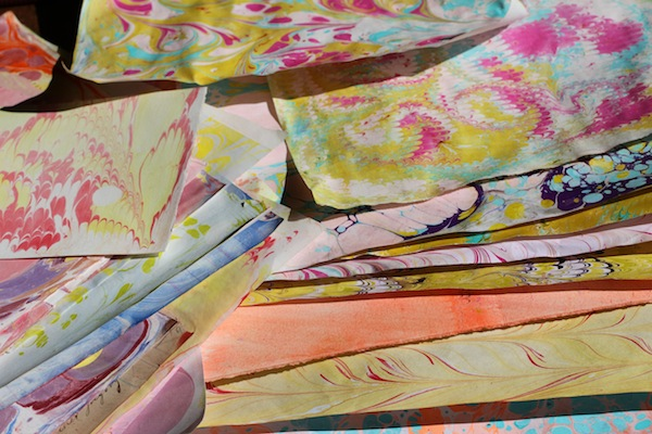 Pg marbling papers