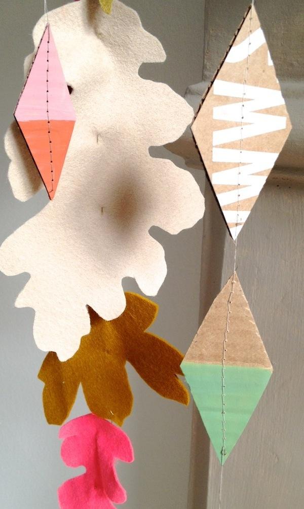 Studio calico box garland
